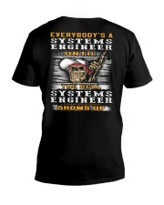 Systems Engineer V-Neck T-Shirt thumbnail