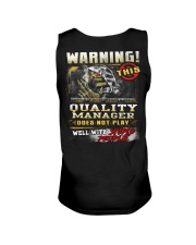 Quality Manager Unisex Tank tile