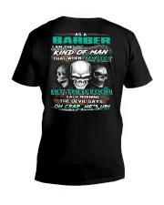 Barber V-Neck T-Shirt thumbnail
