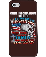 Chief Information Officer Phone Case thumbnail