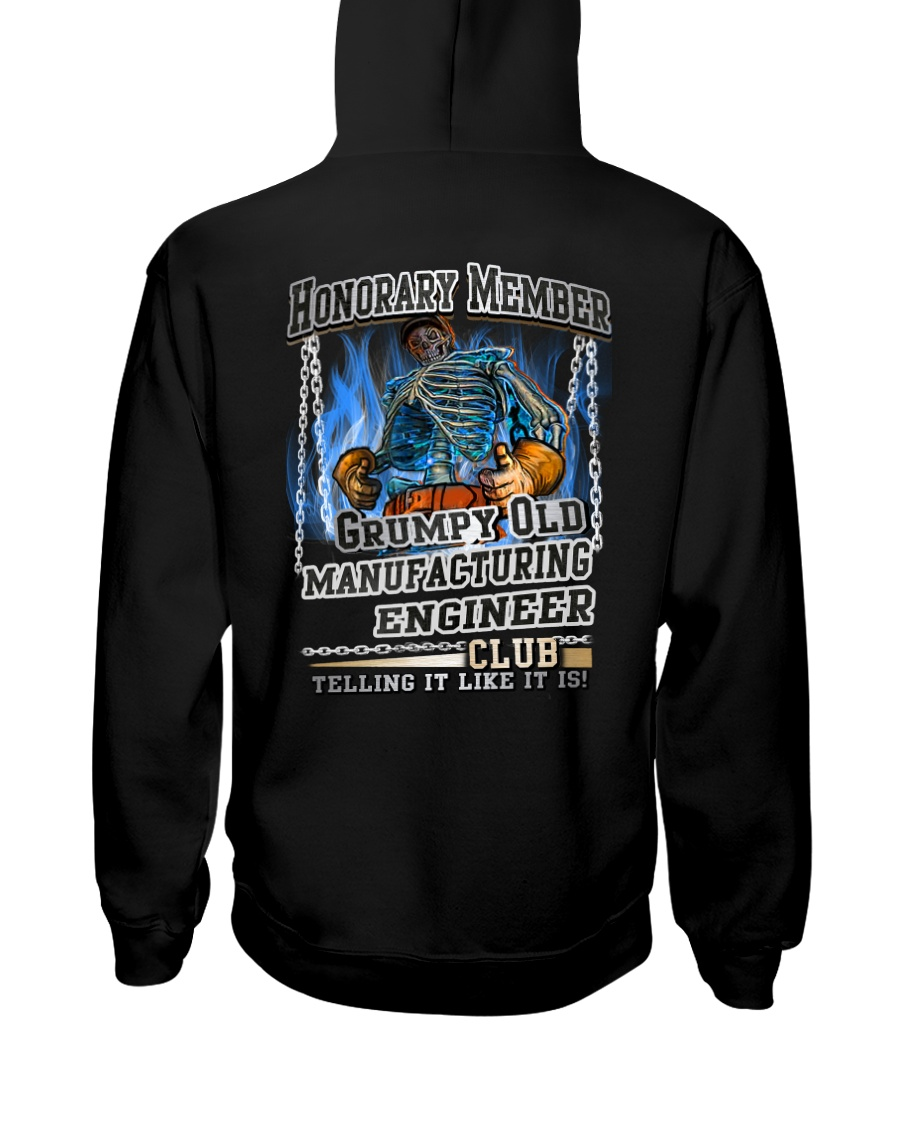 manufacturing engineer Hooded Sweatshirt