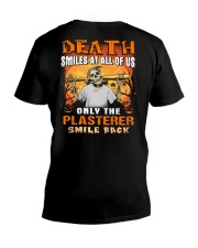 Plasterer V-Neck T-Shirt tile