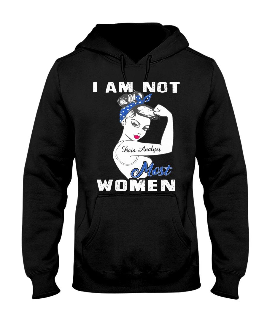 Data Analyst Hooded Sweatshirt