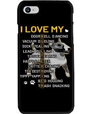 I Love My Bull Terrier Dogs Phone Case tile