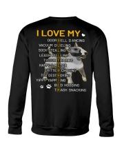 I Love My Bull Terrier Dogs Crewneck Sweatshirt tile