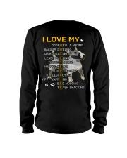 I Love My Bull Terrier Dogs Long Sleeve Tee tile