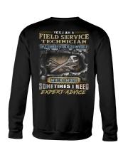Field Service Technician Crewneck Sweatshirt thumbnail