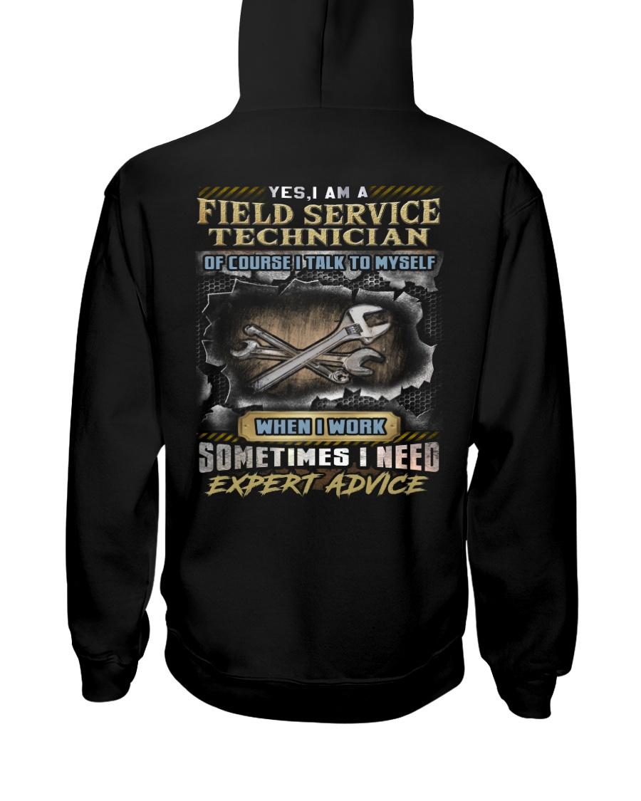 Field Service Technician Hooded Sweatshirt