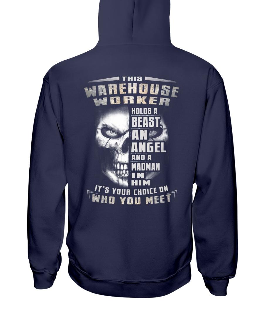 Warehouse Worker Hooded Sweatshirt