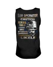 Saw Operator Unisex Tank thumbnail