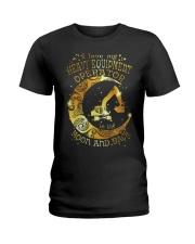 Heavy Equipment Operator Ladies T-Shirt front