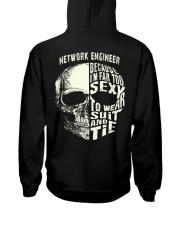 Network Engineer Exclusive Shirt Hooded Sweatshirt back