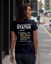Field Service Technician Ladies T-Shirt lifestyle-women-crewneck-back-1
