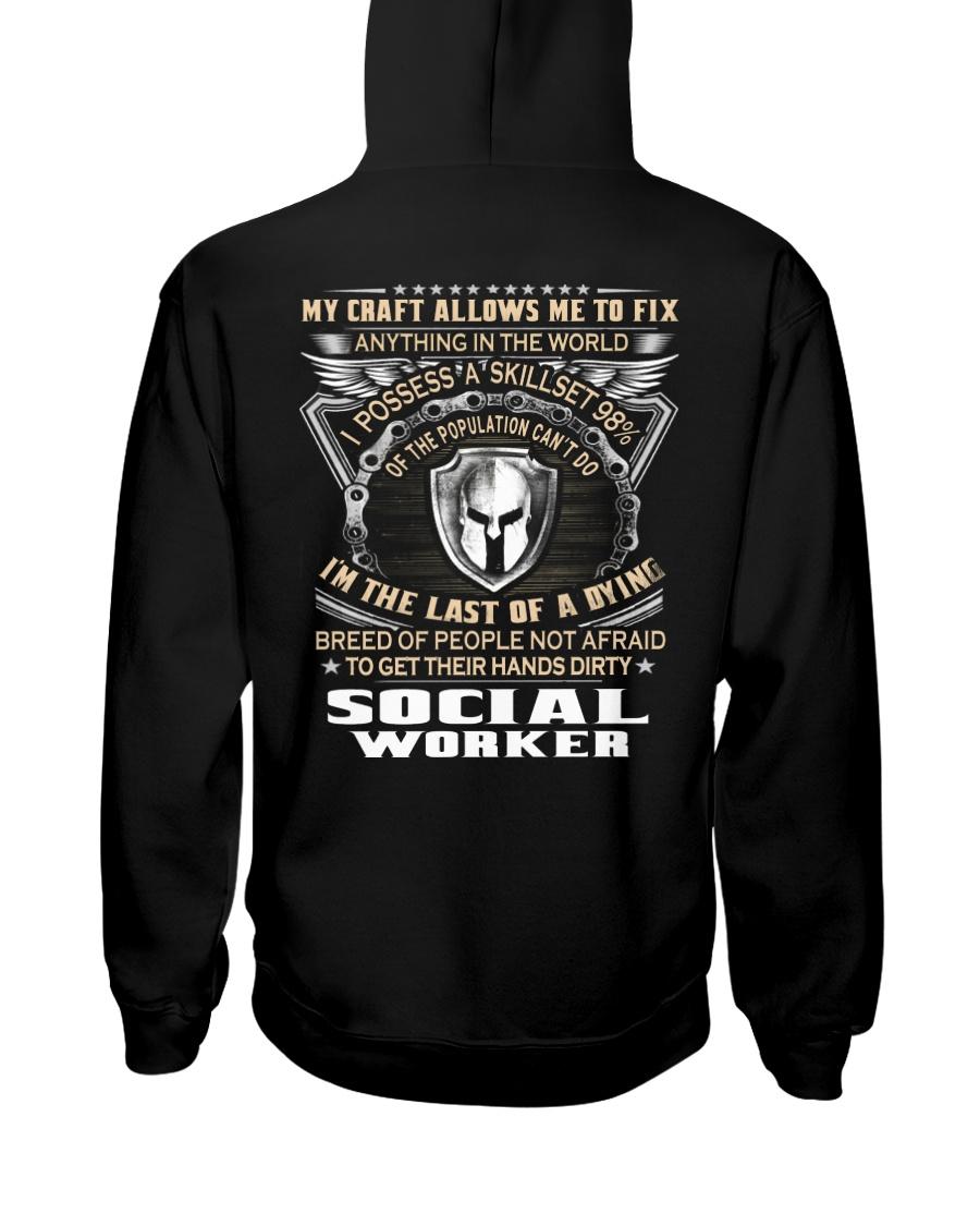 Social Worker Hooded Sweatshirt