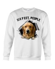 Golden Retriever 6 Feet People Shirt Crewneck Sweatshirt tile