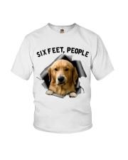 Golden Retriever 6 Feet People Shirt Youth T-Shirt tile