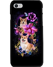 Corgi Dog Flower Phone Case Phone Case i-phone-7-case