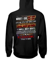 Cook Hooded Sweatshirt back