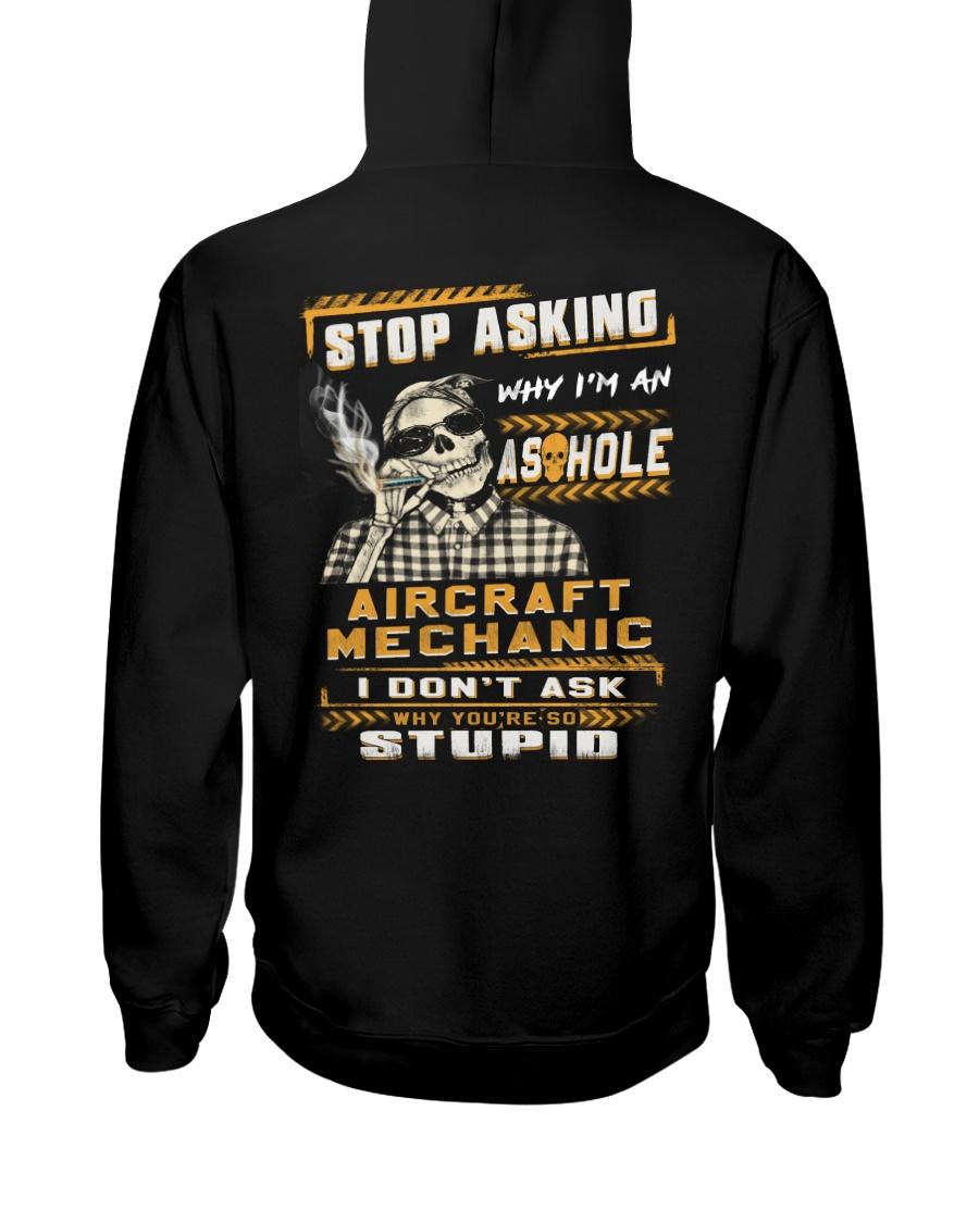 Aircraft Mechanic Hooded Sweatshirt