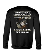 General Contractor Crewneck Sweatshirt thumbnail
