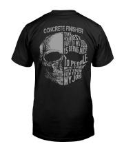 Concrete Finisher Exclusive Shirt Classic T-Shirt thumbnail