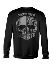 Concrete Finisher Exclusive Shirt Crewneck Sweatshirt thumbnail