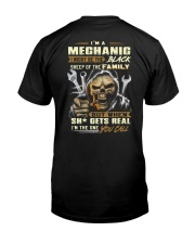 mechanic-youcall Classic T-Shirt back