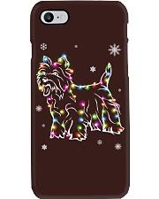 West Highland White Terrier Dog Christmas Phone Case tile