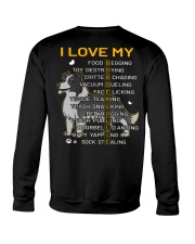 I Love My Border Collie Dog Crewneck Sweatshirt thumbnail