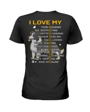 I Love My Border Collie Dog Ladies T-Shirt thumbnail
