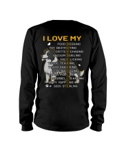 I Love My Border Collie Dog Long Sleeve Tee thumbnail