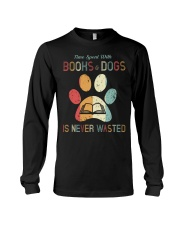 Dogs and Books Lover Long Sleeve Tee thumbnail