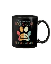 Dogs and Books Lover Mug thumbnail