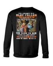 Blue Collar Worker Crewneck Sweatshirt thumbnail