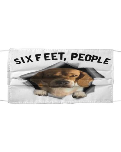 Beagle Dog 6 Feet People Limited Edition