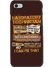 Laboratory Technician Phone Case thumbnail