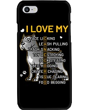 I Love My Cane Corso Dog Phone Case tile