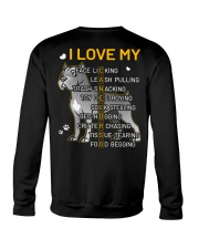 I Love My Cane Corso Dog Crewneck Sweatshirt tile