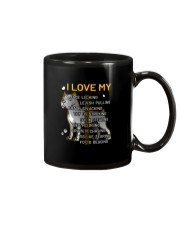 I Love My Cane Corso Dog Mug tile