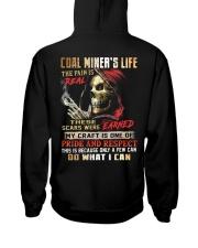 Coal Miner Hooded Sweatshirt back