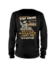 Office Manager Long Sleeve Tee thumbnail