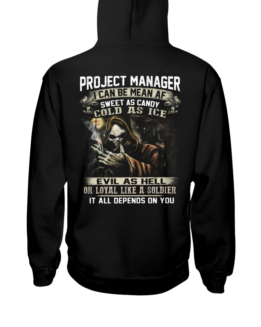 Project Manager Hooded Sweatshirt