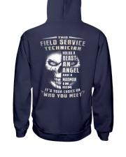 Field Service Technician Hooded Sweatshirt back
