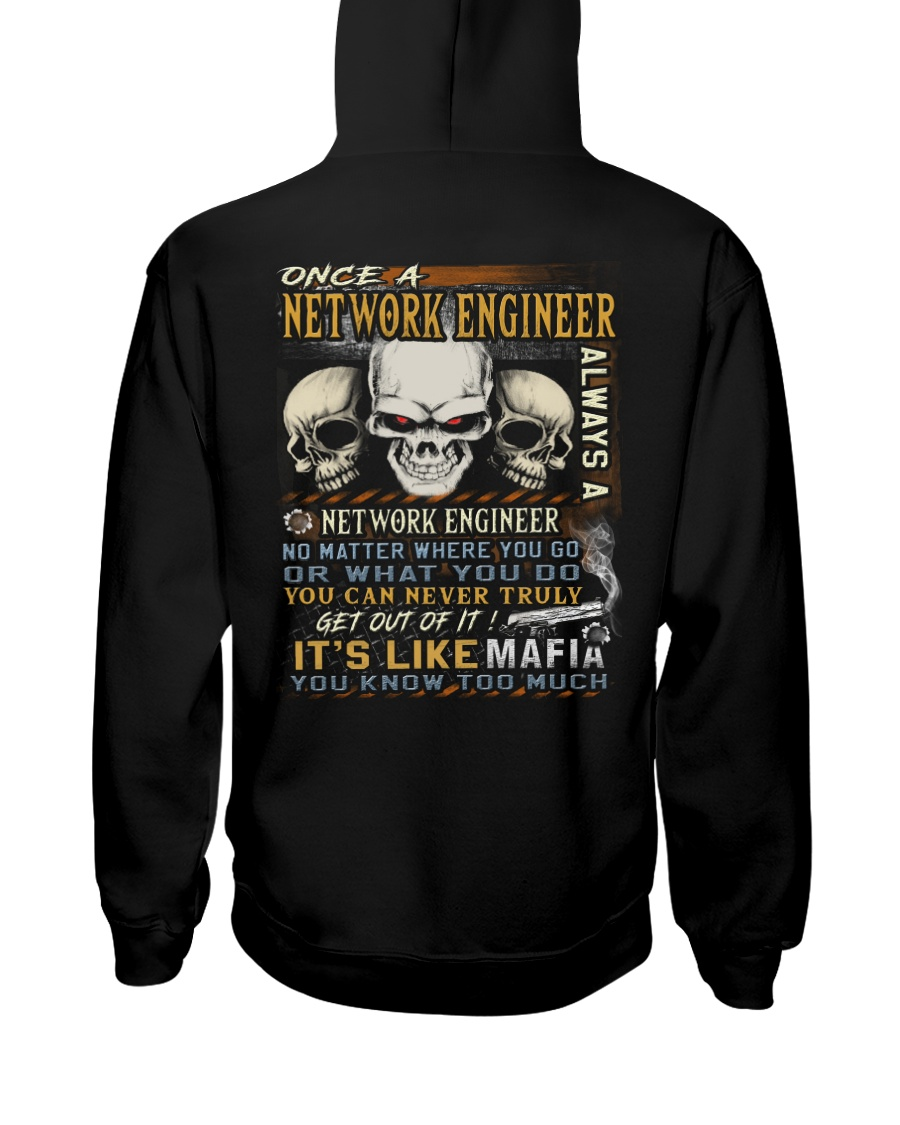 Network Engineer Hooded Sweatshirt