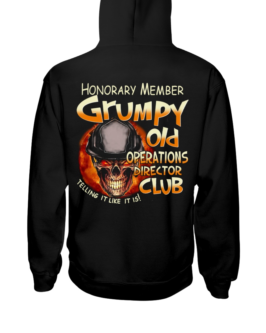 Operations Director Hooded Sweatshirt
