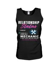Mechanic Relationship Status Unisex Tank thumbnail