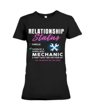 Mechanic Relationship Status Premium Fit Ladies Tee thumbnail