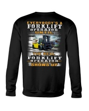 Forklift Operator Crewneck Sweatshirt thumbnail