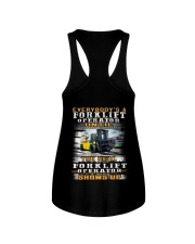 Forklift Operator Ladies Flowy Tank thumbnail