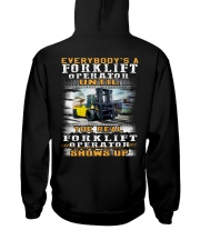 Forklift Operator Hooded Sweatshirt back